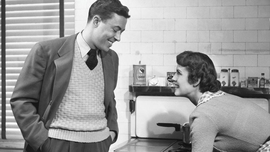 Paar in den Fünfzigerjahren