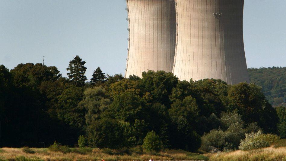 Kühltürme des Atomkraftwerks im niedersächsischen Grohnde: Mehrheitlich in E.on-Besitz