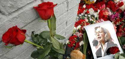 Ungesühnter Mord: Im Oktober 2006 wurde die russische Journalistin Anna Politkowskaja erschossen