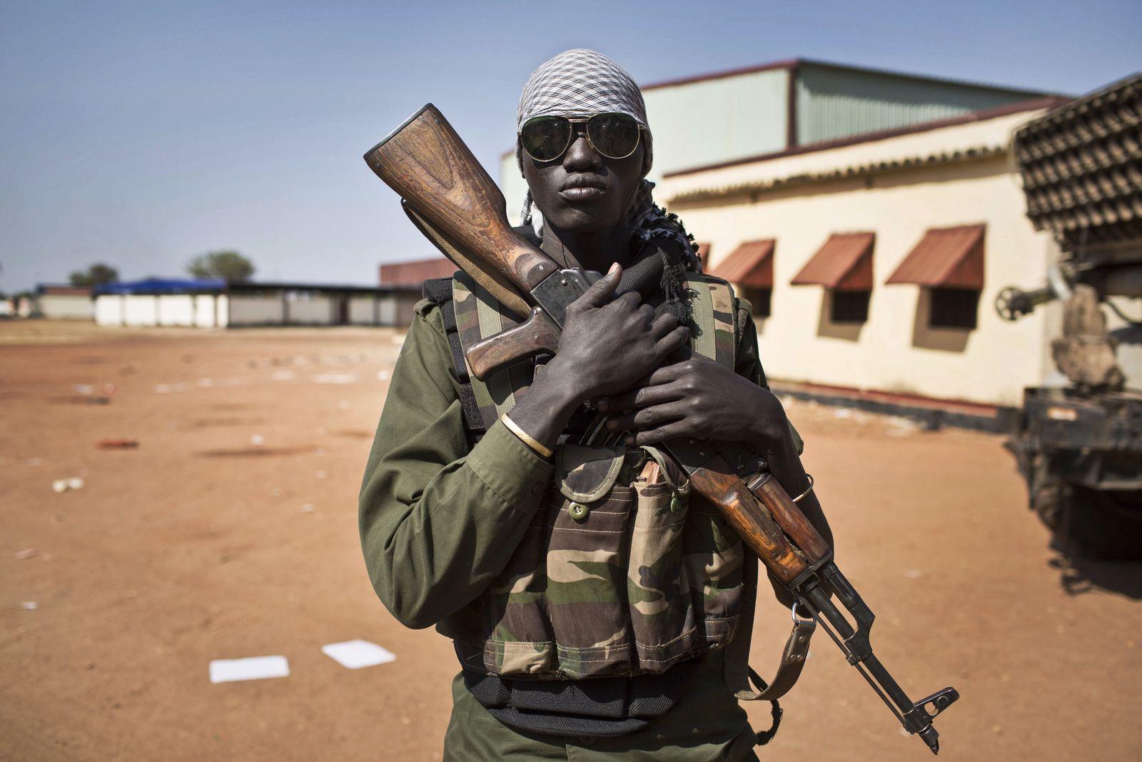 Südsudan / Soldat