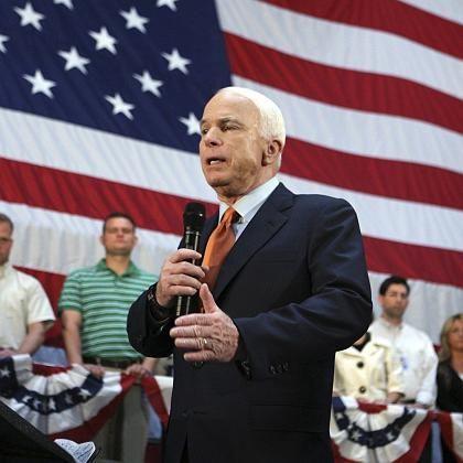"""McCain in Erie: """"Klare Verletzung des internationalen Rechts"""""""