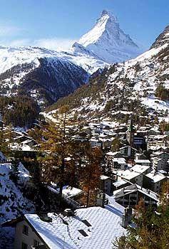 Die Schweiz ist weiblich, weil sie einfach die Schönste ist. Wer solche Gipfel hat...