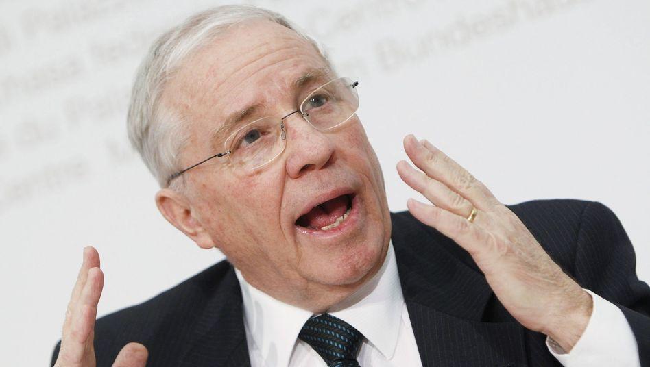 SVP-Vize Blocher: Seine Partei will Bankgeheimnis für deutsche Politiker einschränken