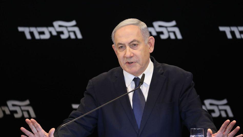 Israels Premier Benjamin Netanyahu: Gewährt das Parlament ihm Immunität?