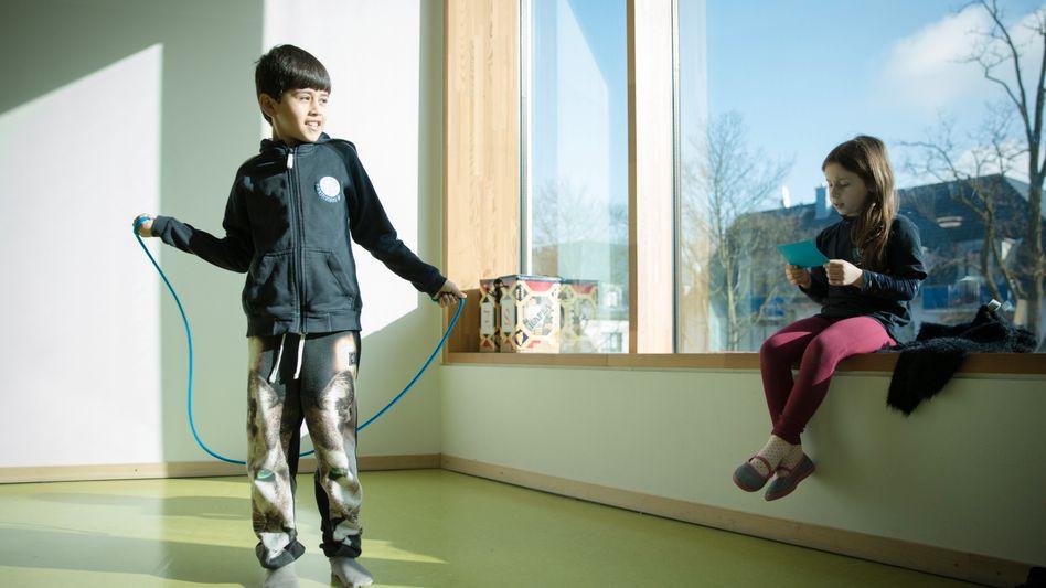 Zweitklässler in Hamburg-Wilhelmsburg: In den ersten Jahren werden die Weichen gestellt