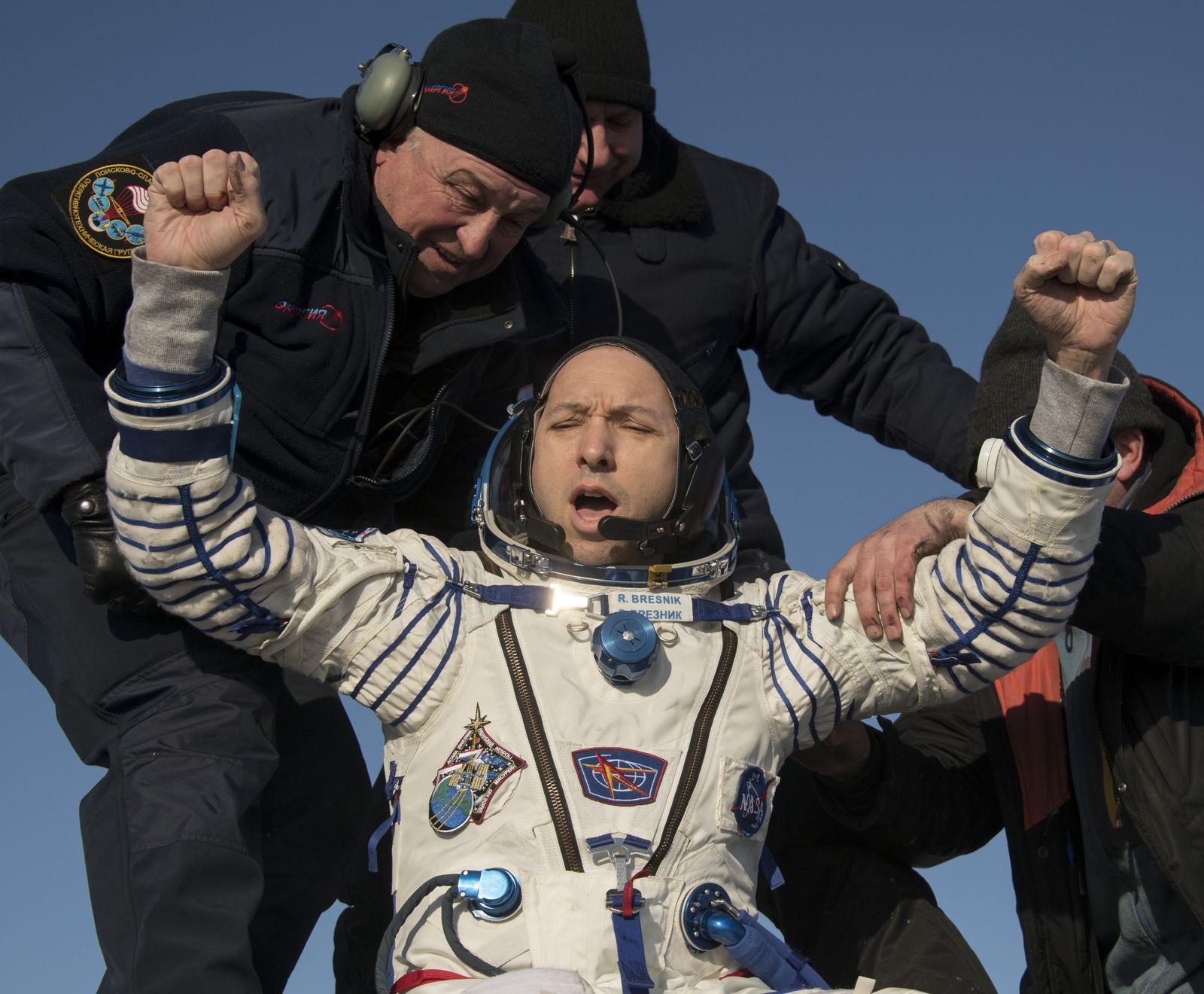 ISS Landung