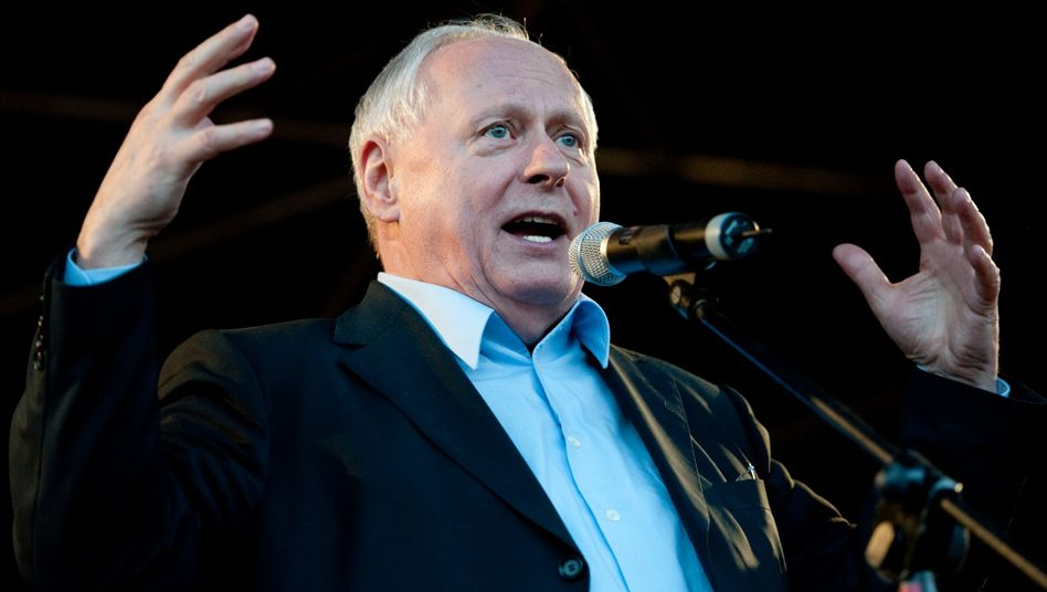 Linken-Politiker Lafontaine: Wahlgänge in offenen Pappschachteln
