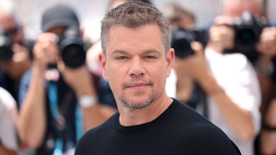Matt Damon beim Filmfestival in Cannes: Dort wurde »Stillwater« vorgestellt