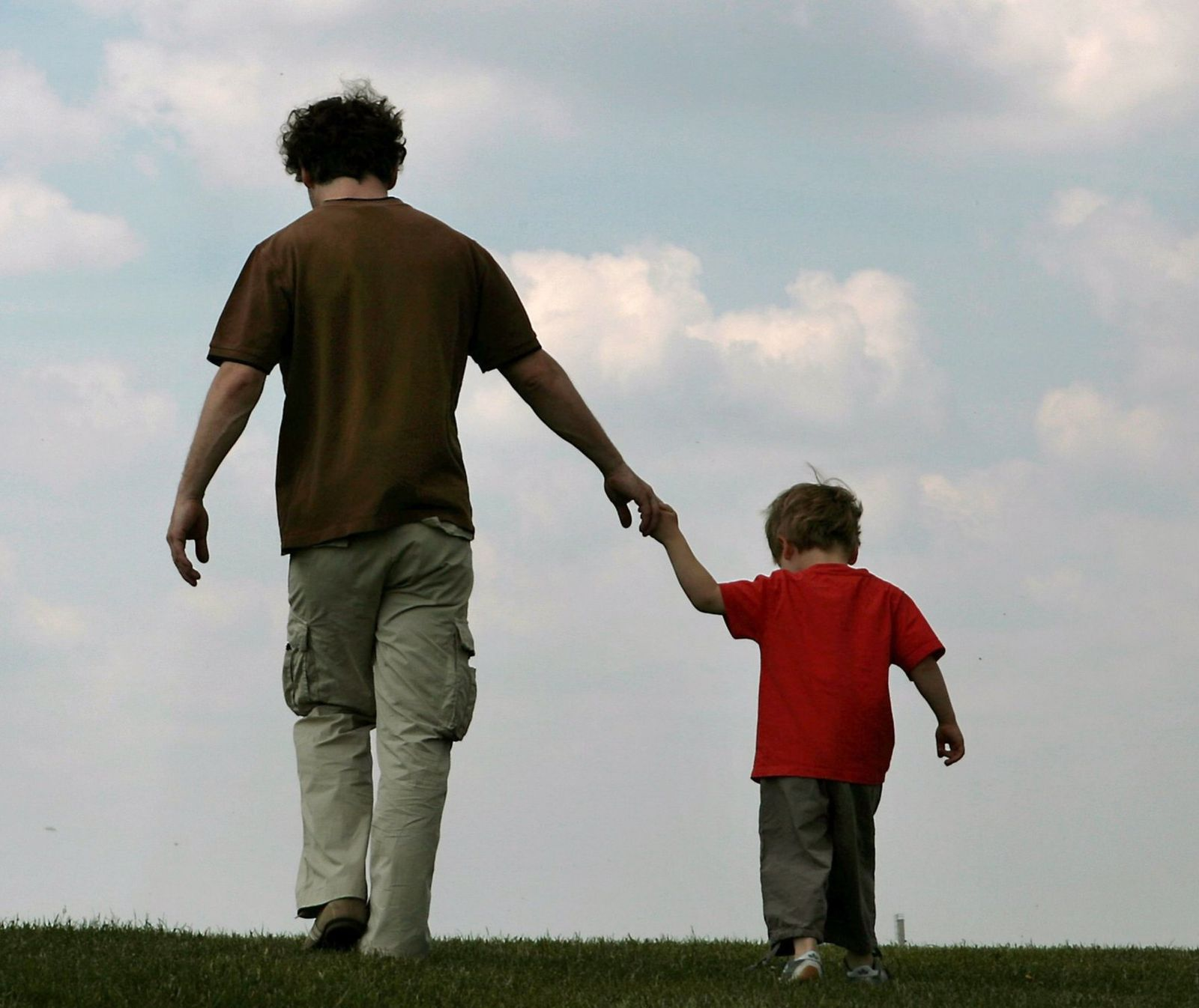 Vater und Sohn / Väter / Eltern