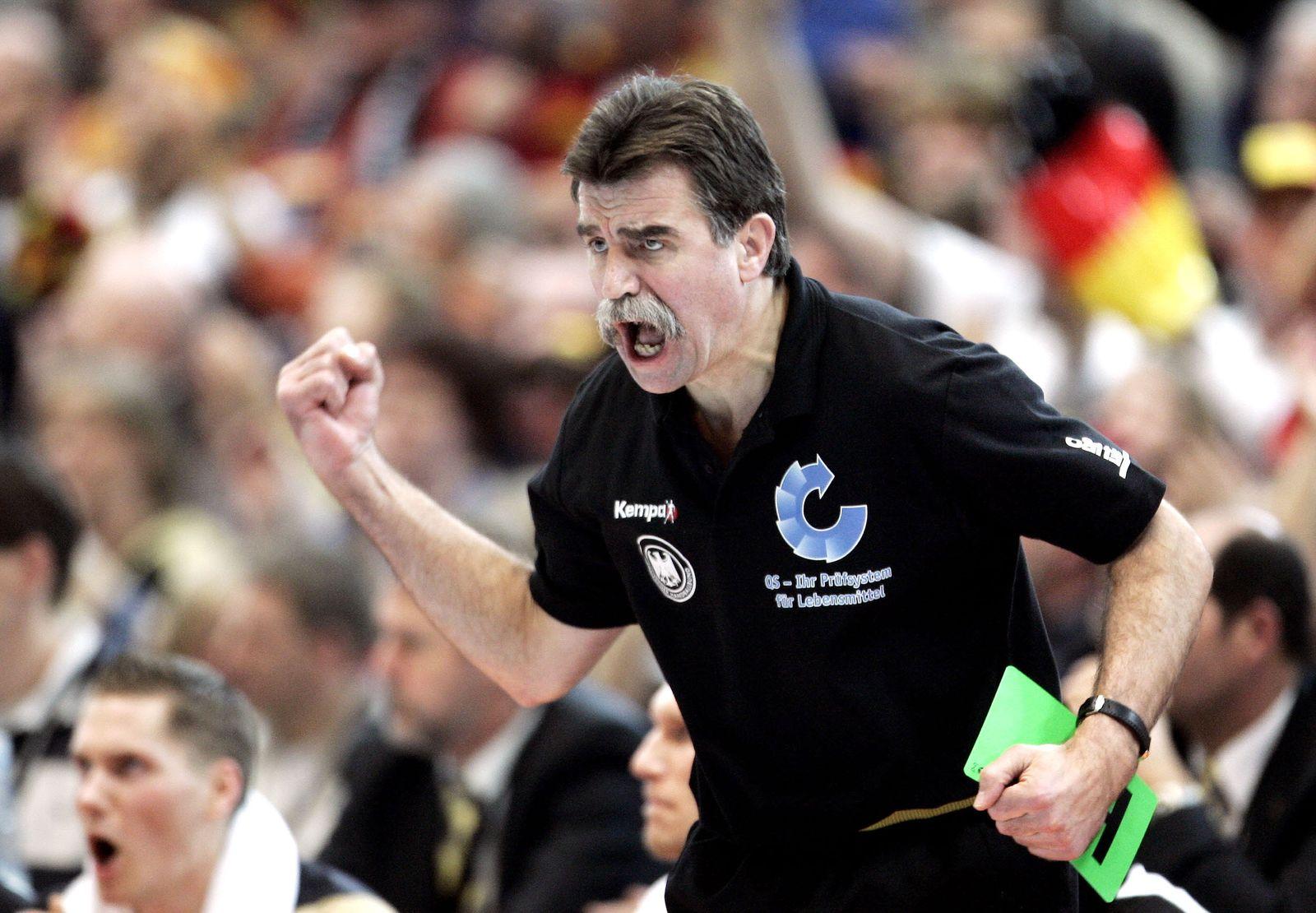 Handball WM/ 2007/ Heiner Brand