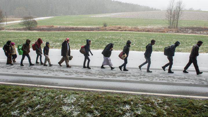 Flüchtlinge an der österreichisch-bayerischen Grenze: Es gibt keinen Plan