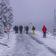 Gedränge in deutschen Wintersportgebieten