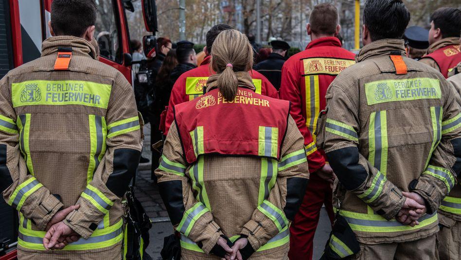 Mitglieder der Berliner Feuerwehr