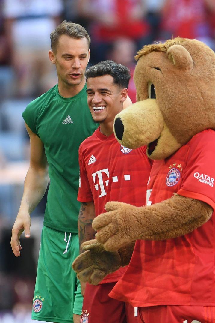 Philippe Coutinho muss sich noch an einiges in München gewöhnen
