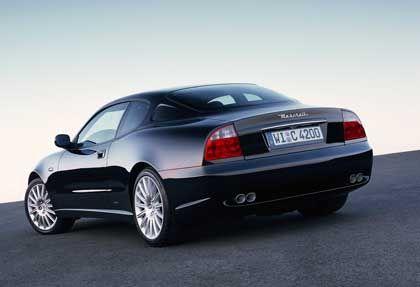 Maserati Coupé: Die Rücklichter sind etwas pausbäckig geraten