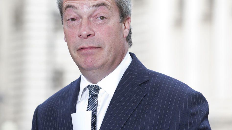 Ukip-Chef Farage: Seine Partei will nicht von ihm lassen