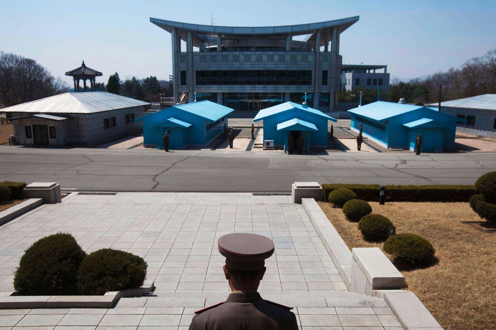 North Korea in Autumn