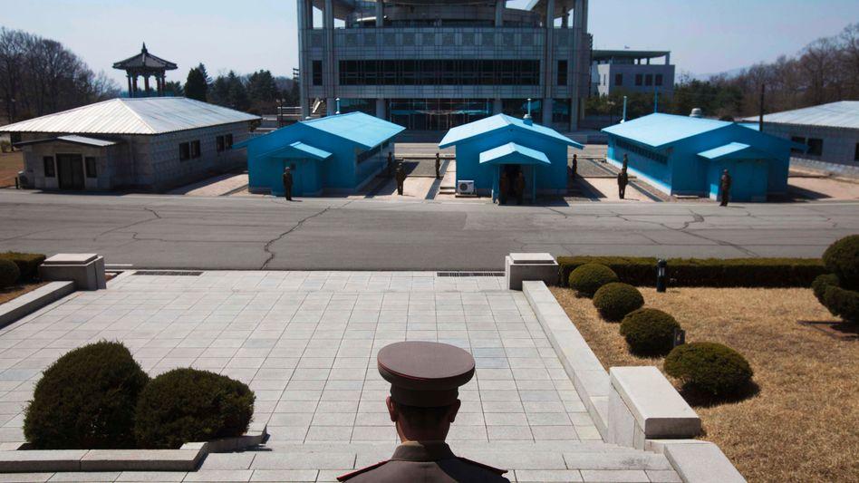 Demilitarisierte Zone zwischen Nord- und Südkorea (Archivbild)