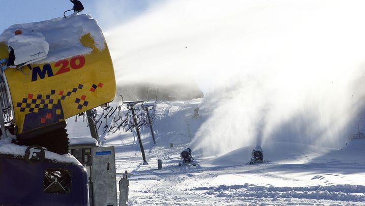 Schneehersteller: Neun Stufen für weiße Flocken