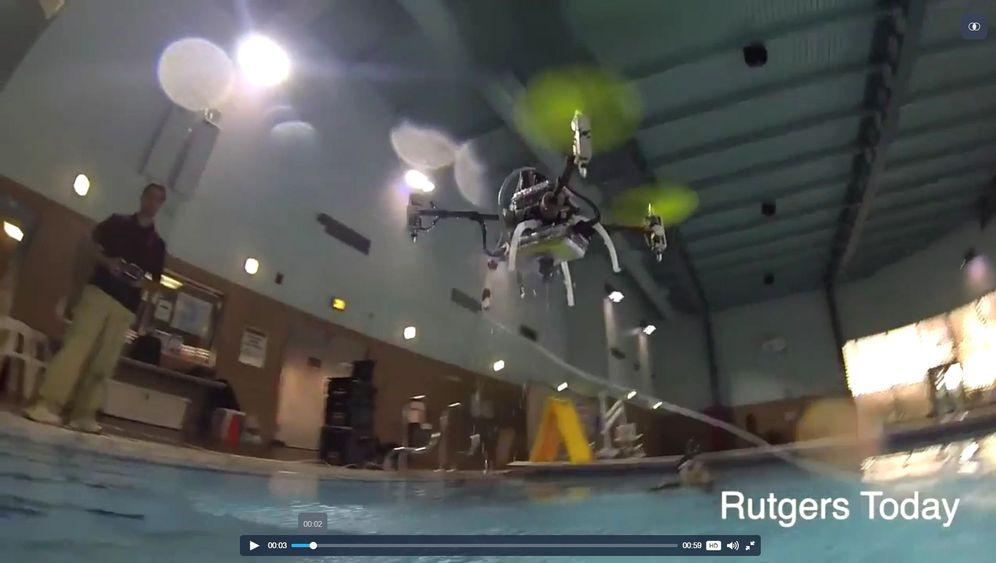 """Wasserfeste Drohne: Eintauchen mit dem """"Naviator"""""""