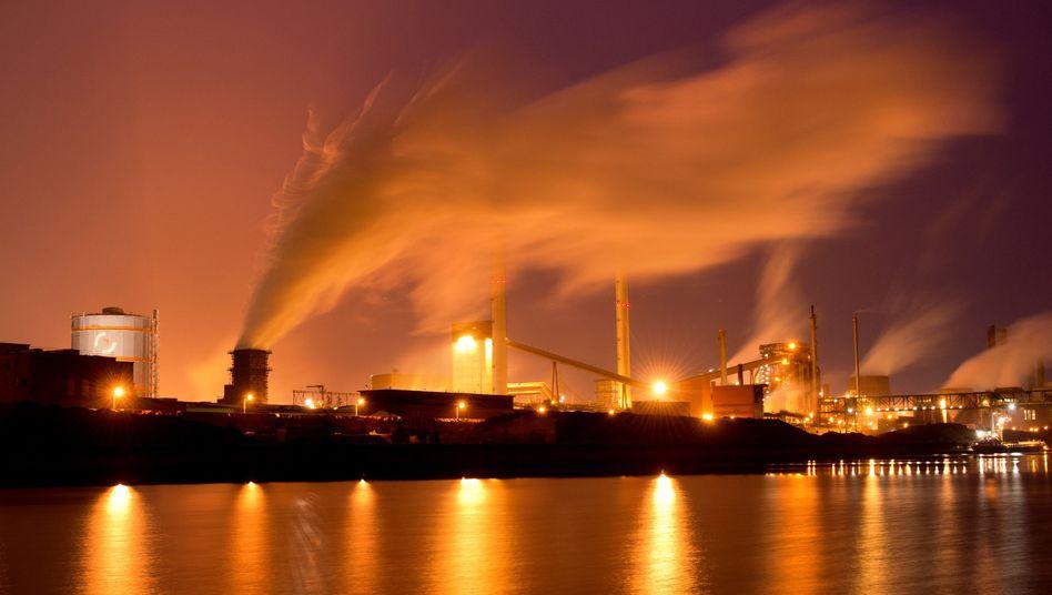 Salzgitter-Werk am Stammsitz: Razzia beim Stahlkonzern