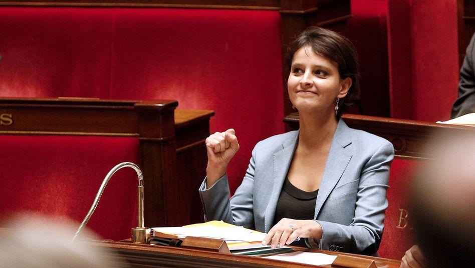 "Frauenrechtsministerin Najat Vallaud-Belkacem: ""Langer Weg voller Tücken"""