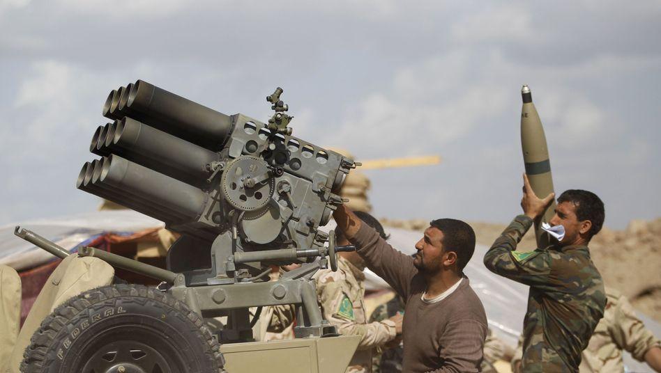 Großoffensive von Iraks Militär: Heftige Kämpfe um IS-Hochburg Tikrit