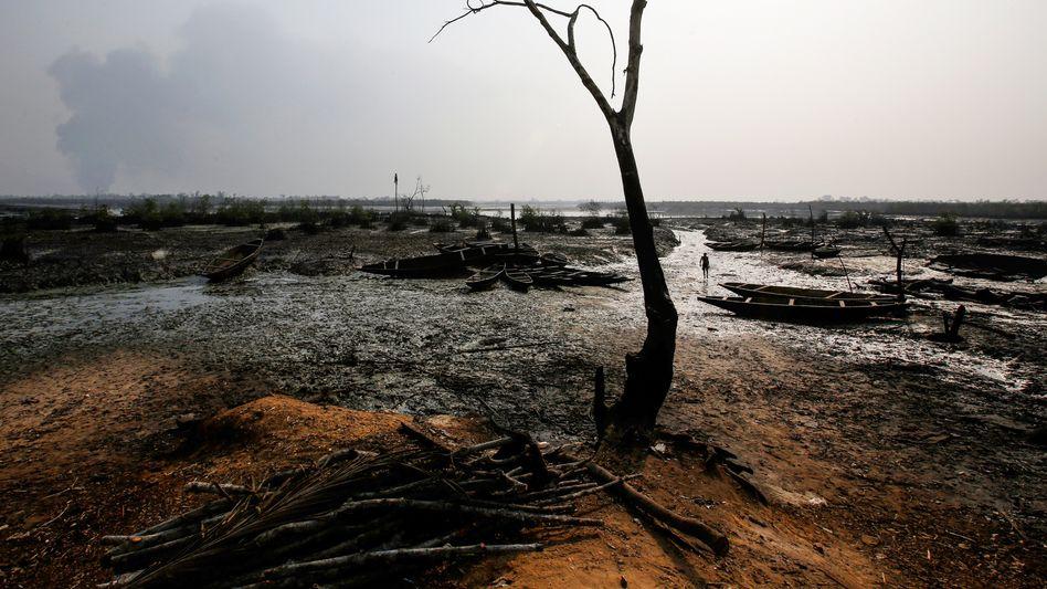 Ölpest im Nigerdelta