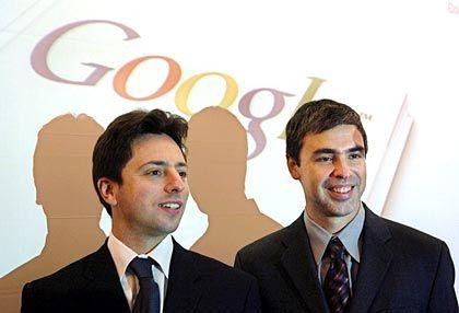 """Google-Gründer Sergey Brin, Larry Page: """"Seid nicht böse!"""""""