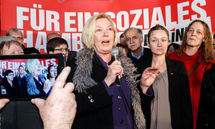 Kämpferisch: Linken-Politikerin Dora Heyenn