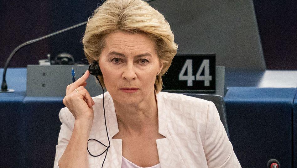 Ursula von der Leyen: Einiges auf dem Zettel in den kommenden Monaten