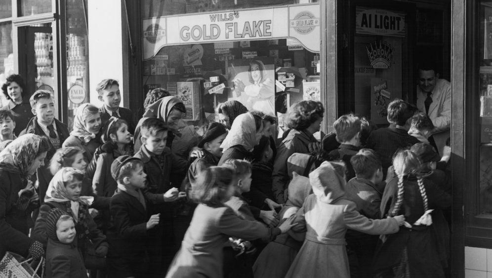 Britische Rationierung: Bye-bye, saure Gurken, hello Süßes!