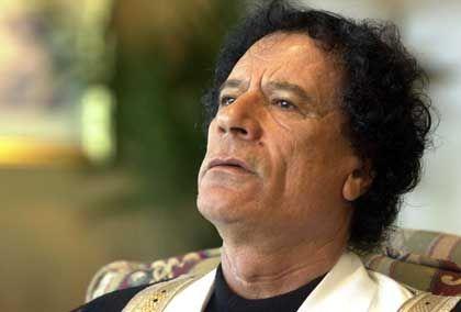 """Muammar al-Gaddafi: """"Wir haben diese Waffen nicht"""""""