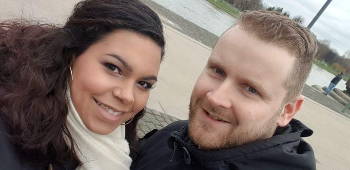 Michelle Weber und Jan Kloft werden Anfang April Eltern einer Tochter
