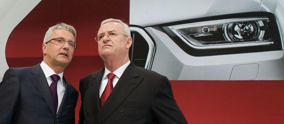 Audi-Topmanager Stadler, Winterkorn 2012: Angeblich aus allen Wolken gefallen