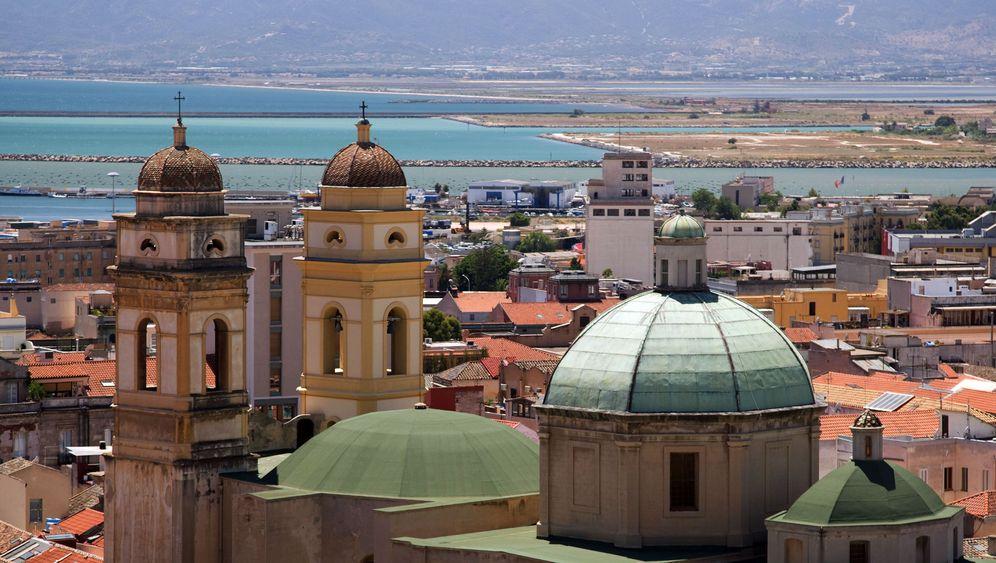 Cagliari auf Sardinien: Käse, Krabben, Tintenfischchen