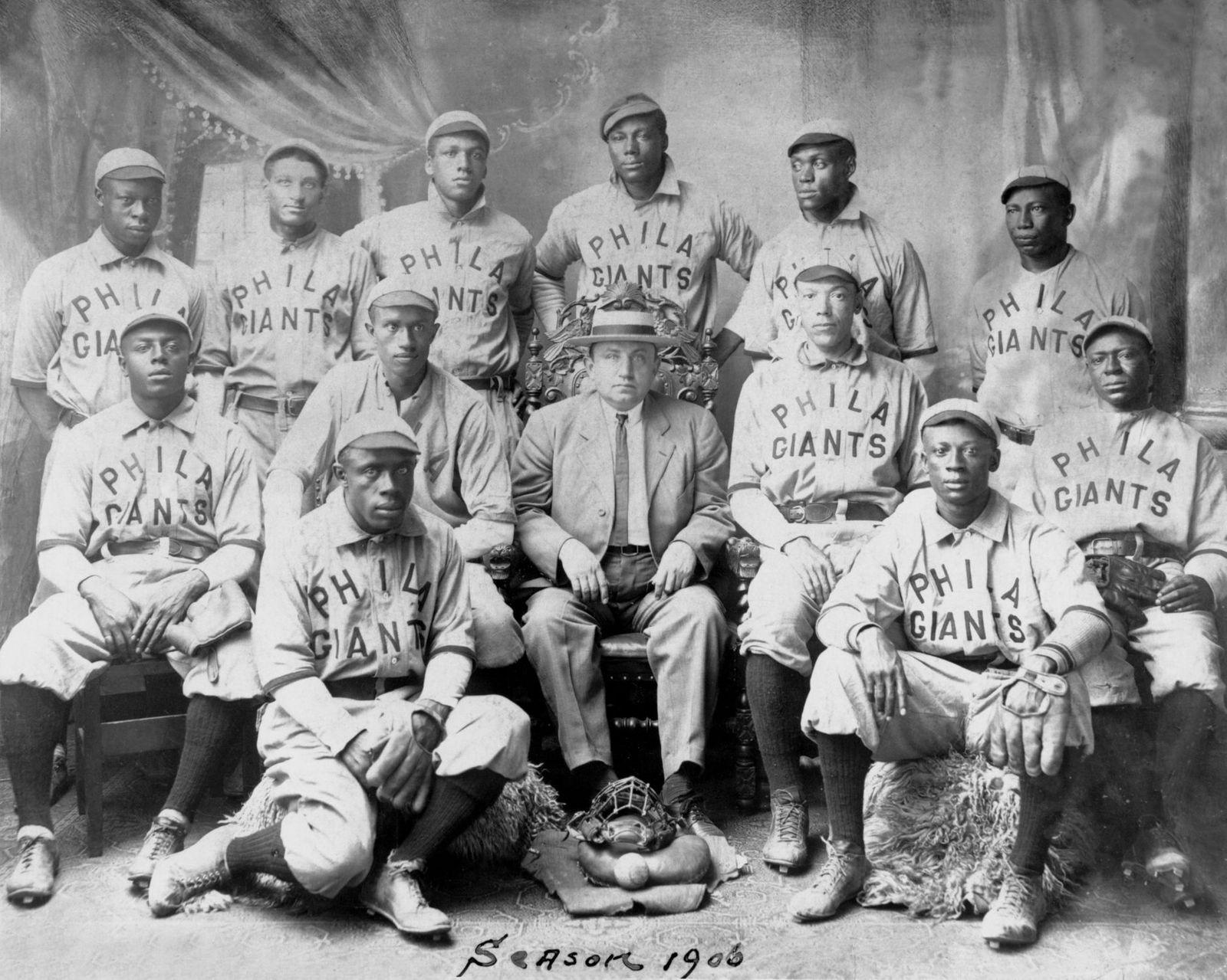 Negro Leagues Phila Giants 1906 5413.96 PD