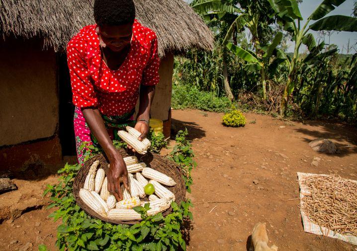 Heute weiß Norah Odhiambo, dass zu Hause genug Essen auf sie wartet.