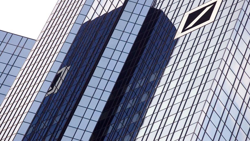 Deutsche Bank in Frankfurt am Main: Negativer Ausblick