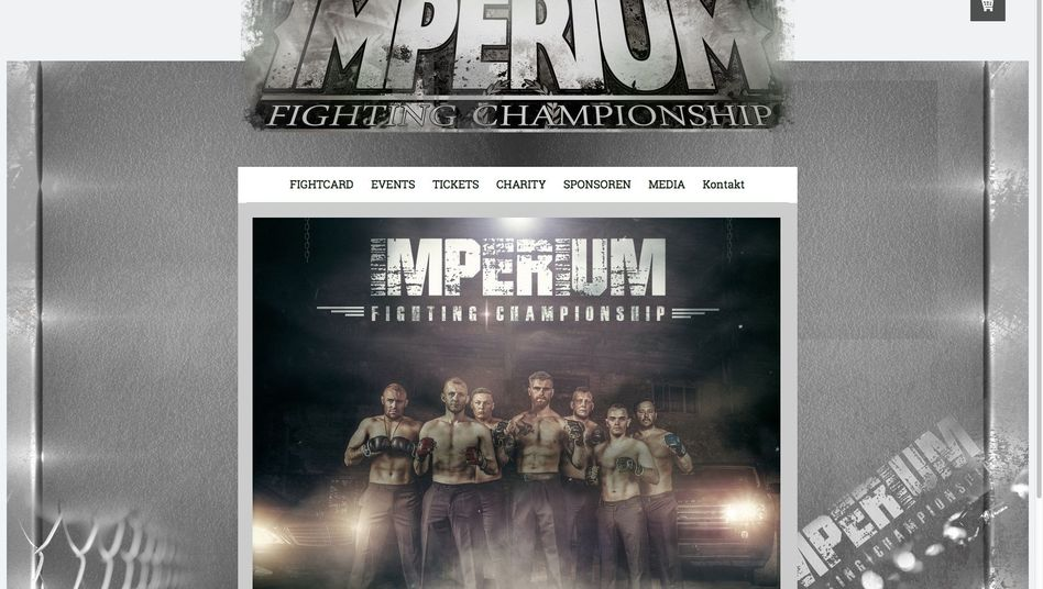 """""""Imperium Fighting Championship"""": Veranstaltungsplakat in Leipzig"""