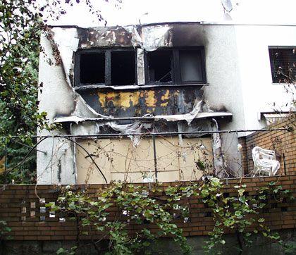 Das Haus, in dem Monika de M.s Vater starb: Brandstiftung - oder tragisches Unglück?