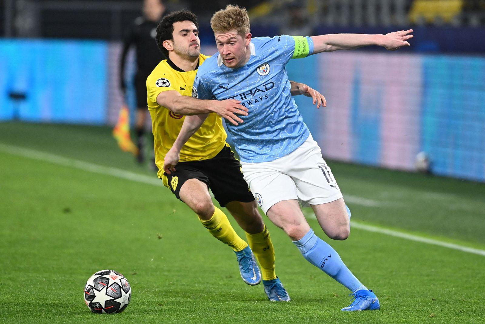 Football: Borussia Dortmund v Manchester City in Champions League quarter final second leg