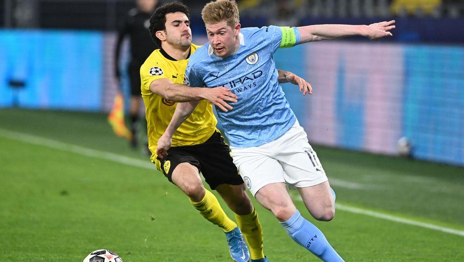 Enteilt: Manchester Citys Kevin De Bruyne