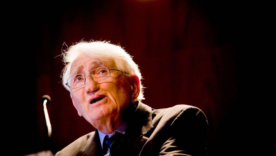 Philosoph Habermas: Entscheidung wird »respektiert«