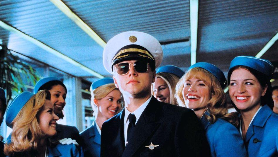 Leonardo DiCaprio im Film: Ein schwedischer Hochstapler flog sogar große Maschinen.