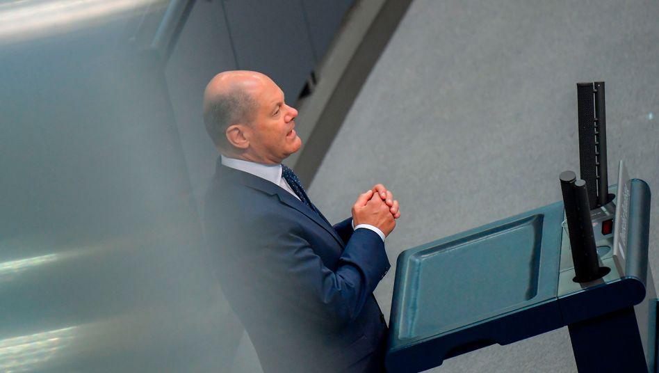 Will den Sozialstaat trotz Krise ausbauen: Finanzminister Olaf Scholz