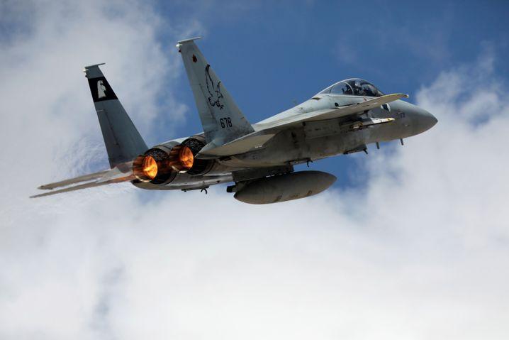 Israelischer F15-Kampfjet (Archiv)