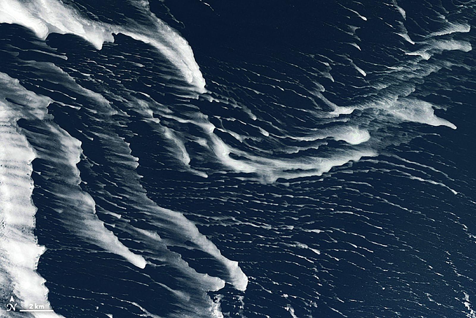 Drift Ice in the Sea of Okhotsk