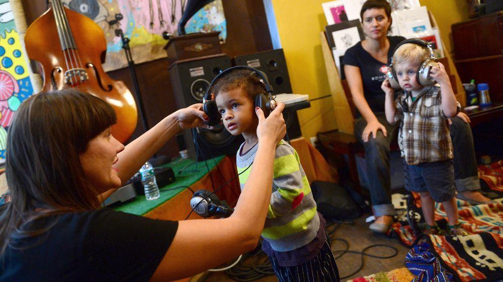New York: DJ-Schule für Kleinkinder