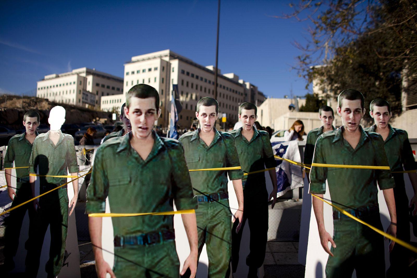 Bilad Schalit / Demonstration